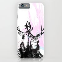 iPhone & iPod Case featuring Oh, Deer by Tiffany Atkin