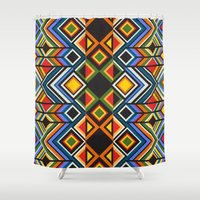 TINDA 2 Shower Curtain
