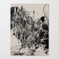 Coexistence Canvas Print