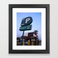Parking Space Framed Art Print