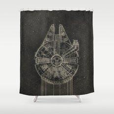 Millennium Falcon Shower Curtain