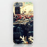 iPhone & iPod Case featuring All Tied Up by DeLayne