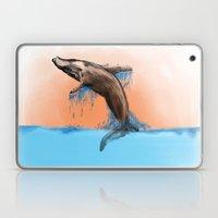 Breaching Whale Laptop & iPad Skin