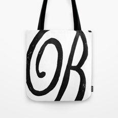 Monogrammed Letter B Tote Bag
