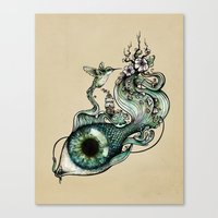 Flowing Inspiration Canvas Print