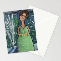 Aurora Leaves the City Behind Stationery Cards