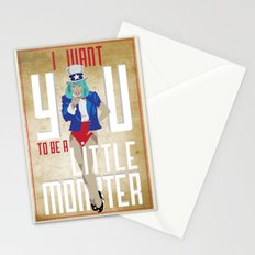 For The Monsters Stationery Cards