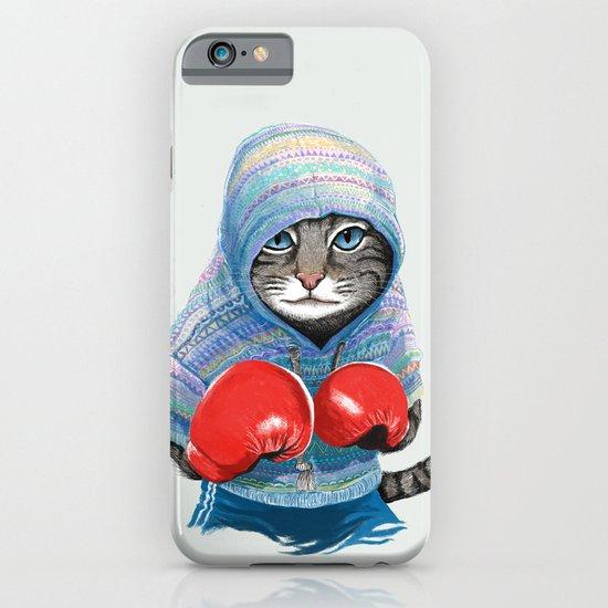 Boxing Cat iPhone & iPod Case
