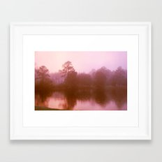 Pink Tree 6 Framed Art Print