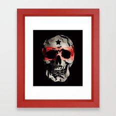 SKULL ZEUS Framed Art Print
