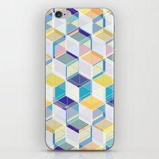 Cube Geometric VII iPhone & iPod Skin