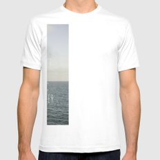 Those who don't believe... Mens Fitted Tee SMALL White