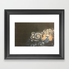 Doctor Who Van Gough Framed Art Print