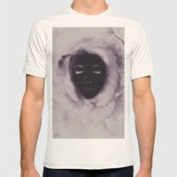 Opposites Mens Fitted Tee Natural SMALL