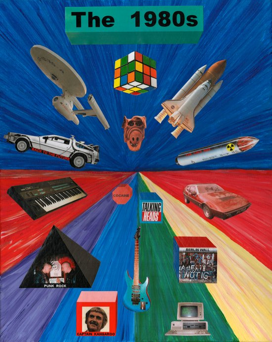The 1980s  Art Print