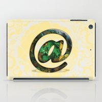 At Sign {@} Series - Coo… iPad Case
