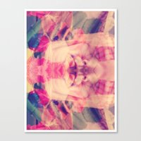 Canvas Print featuring Surreal Selfie by Jenn Bress