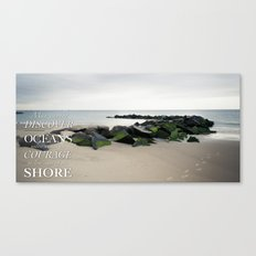 Coney Island Quote Canvas Print