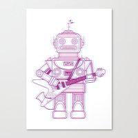 Rockbotics Canvas Print