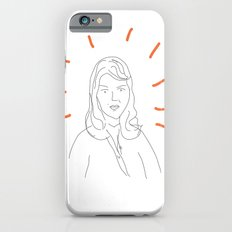 t0 sylvia plath iPhone 6s Slim Case