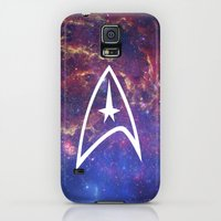 Galaxy S5 Cases featuring The Final Frontier II by Hinasei