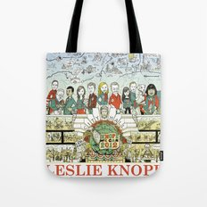 Leslie Knope For City Co… Tote Bag