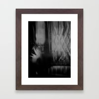 Describe Where You Are_4 Framed Art Print