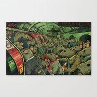 Tube Rats Canvas Print