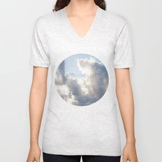 On Earth there is no Heaven ♥ Unisex V-Neck
