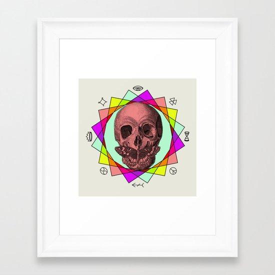 TRUE SIGN Framed Art Print