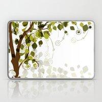 Jungle Swirls And Twirls Laptop & iPad Skin