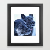 2 is better Framed Art Print