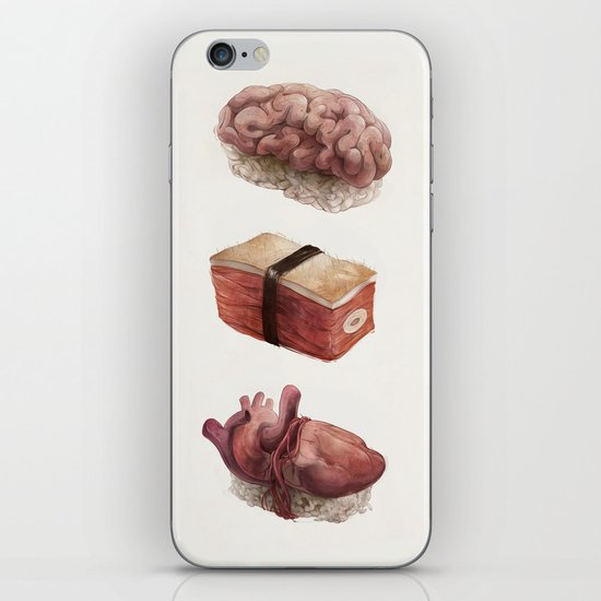 Fresh Flesh iPhone & iPod Skin