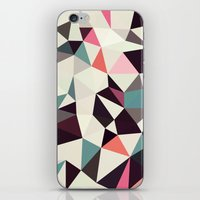 Retro Tris Light iPhone & iPod Skin