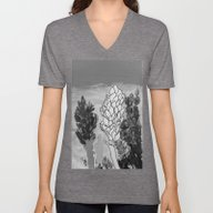 Alpinia Purpurata – Re… Unisex V-Neck