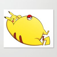 TUBY : Pikachu Canvas Print