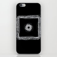 Particle In A Box Invert iPhone & iPod Skin