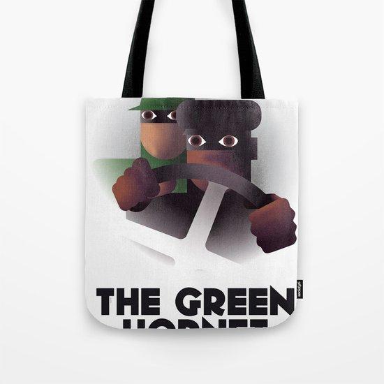 Cassandre Spirit - The green hornet Tote Bag