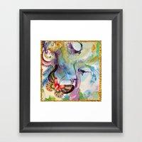 Divergence Framed Art Print