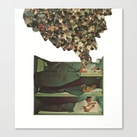 top bunk Canvas Print