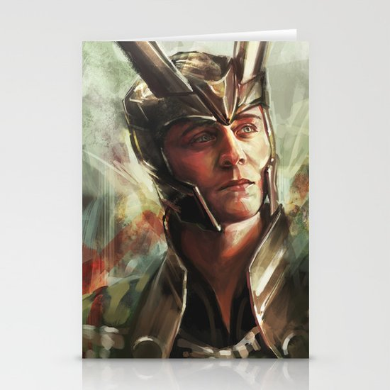 The Prince of Asgard Stationery Card