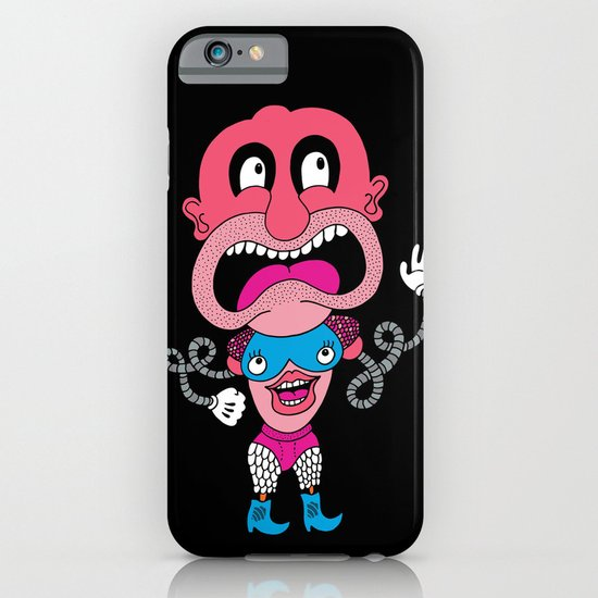 Red Face Weirdo iPhone & iPod Case