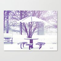 Sit Down With Me??? Canvas Print