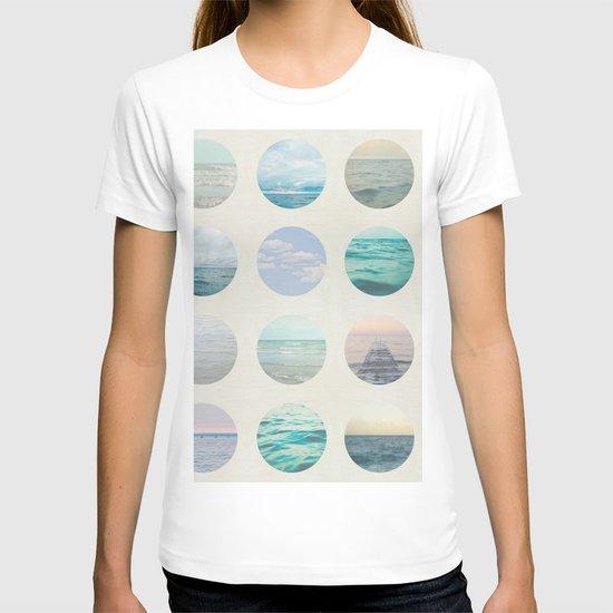 Ocean Polka dot  T-shirt