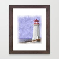 Peggy's Cove Framed Art Print
