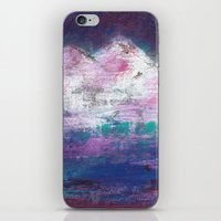 Pink Mountains iPhone & iPod Skin
