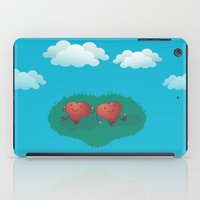 HEARTS IN THE CLOUDS iPad Case