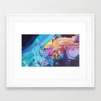 Skying Framed Art Print