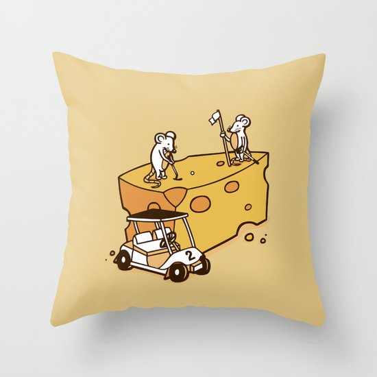 Par Cheesy Throw Pillow