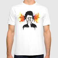 Gazuntite Mens Fitted Tee White SMALL